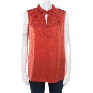 Marc by Marc Jacobs Silk Cherry Blouse